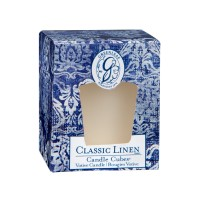 Classic Linen Candle Cube