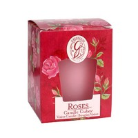 Roses Candle Cube