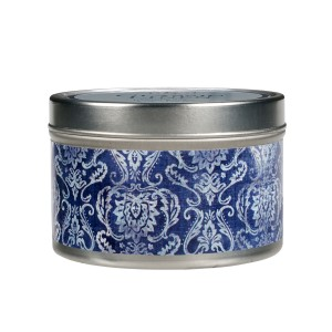 Classic Linen Candle Tin