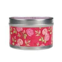 Roses Candle Tin