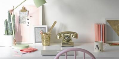 A desk to desire